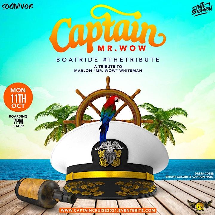 Captain Cruise - (Bright colors & Captain Hats) image