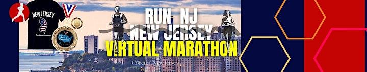 Run NJ New Jersey Virtual Marathon image