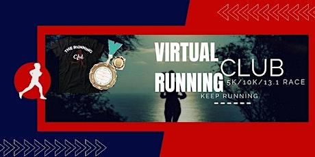 Virtual Running Club 5K/10K/13.1 Race tickets