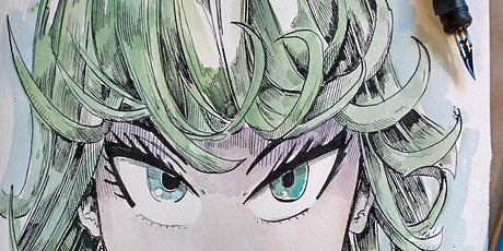 Online Anime Drawing Class for Older Children and Teens tickets