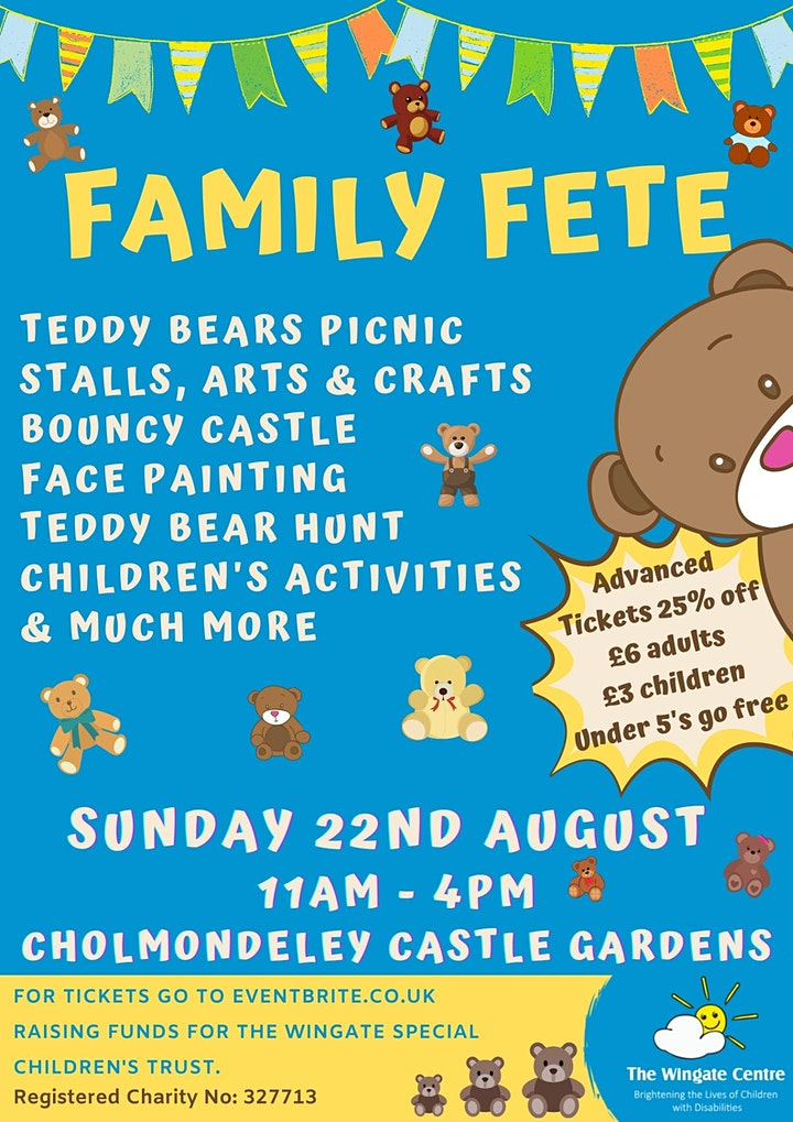 Family Fete with Teddy Bears Picnic image