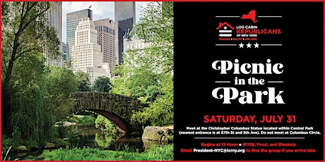 Log Cabin Republicans of New York - Picnic in the Park - July 31 tickets