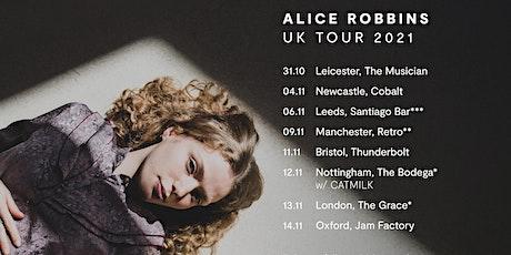 Alice Robbins live in Newcastle tickets