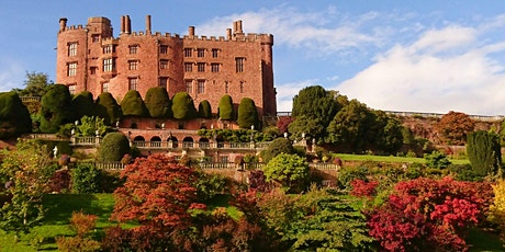 Timed entry to Powis Castle and Garden (19 July - 25 July) tickets