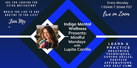 Indigo Mental Wellness: Mindful Mondays tickets