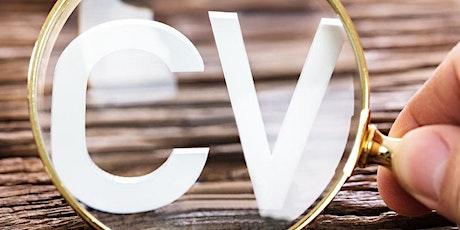 CV and Job Application Clinic  // CV a Chlinig Ceisiadau Swyddi tickets
