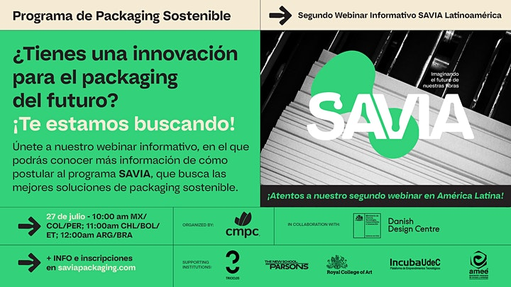 Imagen de Segundo Webinar Informativo SAVIA Latinoamérica