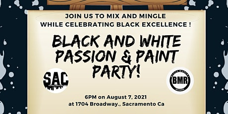 Black & White Passion & Paint Party tickets