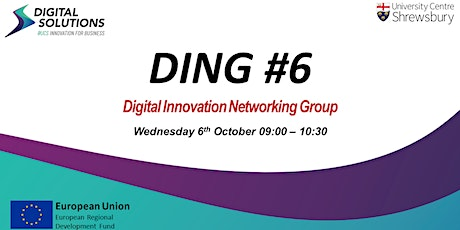 Digital Innovation Networking Group (DING) #6 tickets
