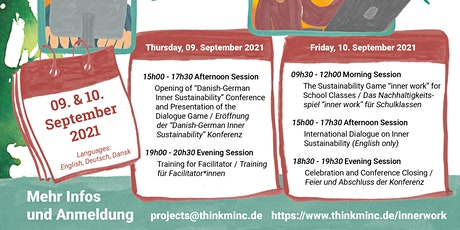 Danish-German Inner Sustainability Conference Tickets