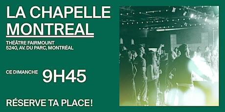 La Chapelle Montréal au Théâtre Fairmount - Réunion 09h45 billets
