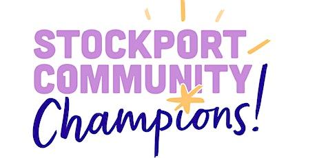 Stockport Community Champions Essential Training tickets