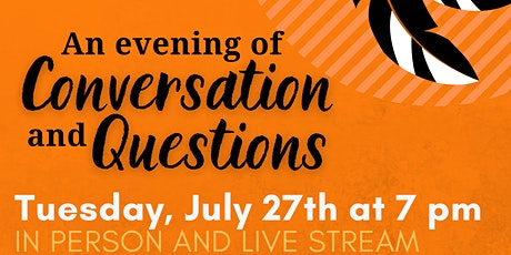 Truth and Reconciliation - An Evening of Conversation and Questions tickets