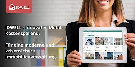 iDWELL - Informations Webinar | Digitales Immobilienmanagement Tickets
