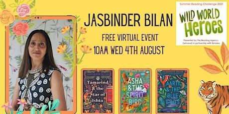 Virtual Summer Reading Challenge Event with Jasbinder Bilan tickets