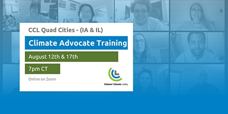 Climate Advocate Training Workshop - Quad Cities (IA & IL) tickets