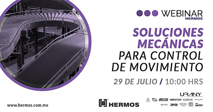 Imagen de Webinar | Soluciones Mecánicas para Control de Movimiento con URANY