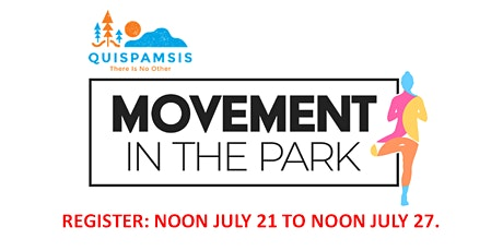 Movement in the Park - Yoga tickets