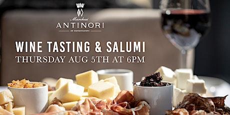 Antinori Wine Tasting & Salumi tickets