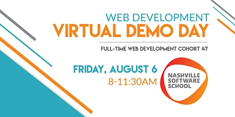 NSS Virtual Demo Day: Web Development Cohort 47 tickets