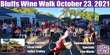 Bluffs Wine Walk 2021 tickets