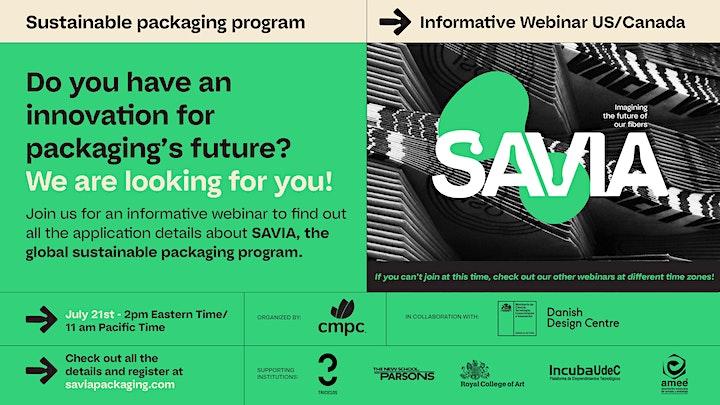 Imagen de Informative SAVIA Webinar US/Canada