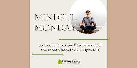 MindfulMondays (Online) Tickets