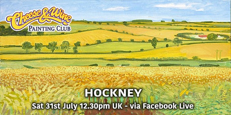 Paint HOCKNEY - Yorkshire Wolds - Facebook LIVE tickets