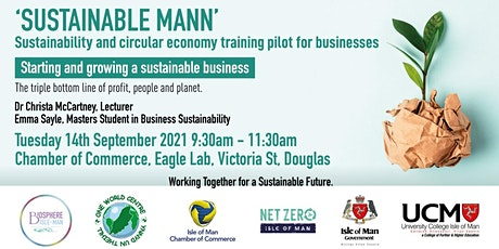 Starting and Growing a Sustainable Business tickets