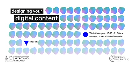 Resource Roundtable #2: Designing your Digital Content (for artists) tickets