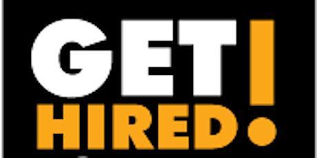 2021 GET HIRED! Job Fair - Job Seeker Registration tickets