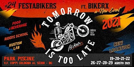 BikerX e 24FestaBikers :  corso motociclistico 1 ora biglietti