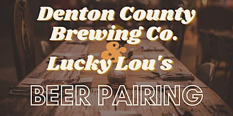 DCBC + Lucky Lou's Beer Pairing: Summer Series Two tickets