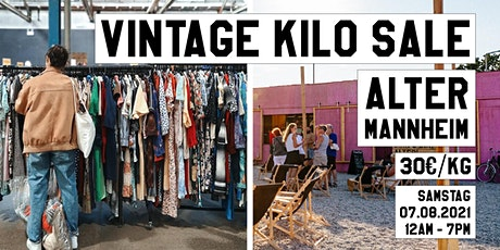 Vintage Kilo Sale • ALTER Mannheim • SecondPlus Tickets