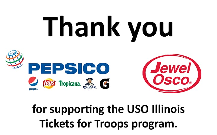 USO Tickets for Troops: BINGO image