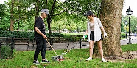 Washington Square Park August Clean Up tickets