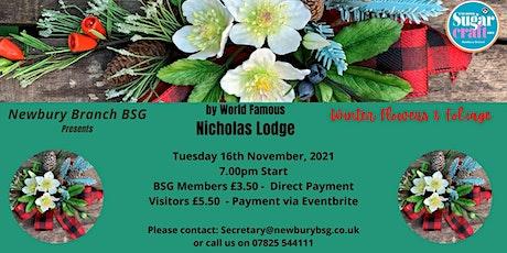 Nicholas Lodge - Winter Flowers & Foliage tickets