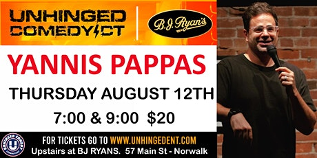 Unhinged Comedy presents: Yannis Pappas tickets