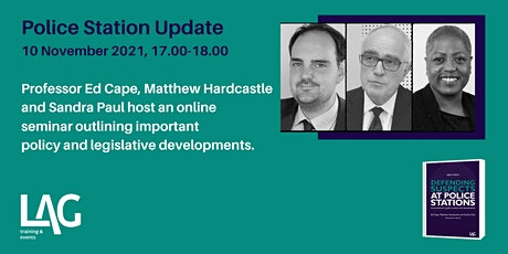Police Station Update with Ed Cape, Matthew Hardcastle and Sandra Paul tickets