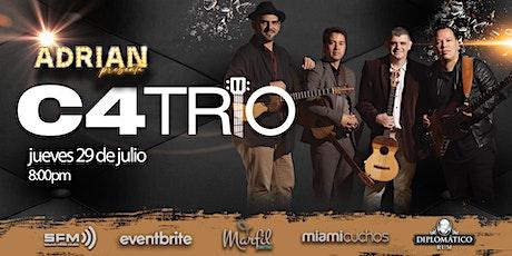 C4TRIO EN INTIMO (MIAMI) tickets