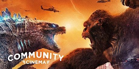 Godzilla Vs. Kong (2021) - Community Cinema & Amphitheater w/ Cedar Pork tickets
