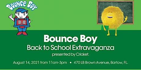 Bounce Boy Back to School Extravaganza tickets