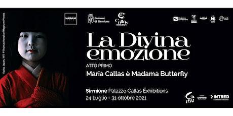 La Divina emozione. Atto Primo. Maria Callas è Madama Butterfly biglietti