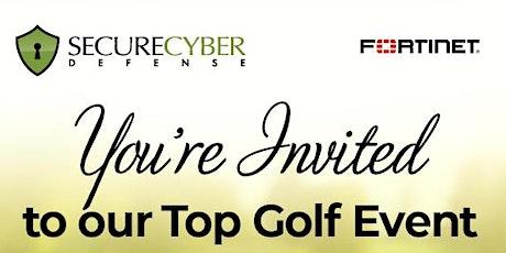 Secure Cyber Defense Cincinnati Top Golf Event tickets