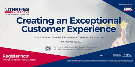 Creating an Exceptional Customer Experience Tickets