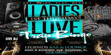 Ladies Love Trap Bingo tickets