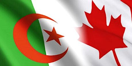 Réseautage des professionnels et entrepreneurs algériens du Canada tickets