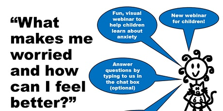 Managing anxiety as an autistic child (1 hour  webinar with Sam) tickets