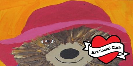 Arty Kids at Art Social Club - Paint Paddington Workshop - Ages 7 - 12 tickets