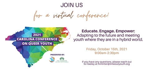 Carolina Conference on Queer Youth 2021 tickets